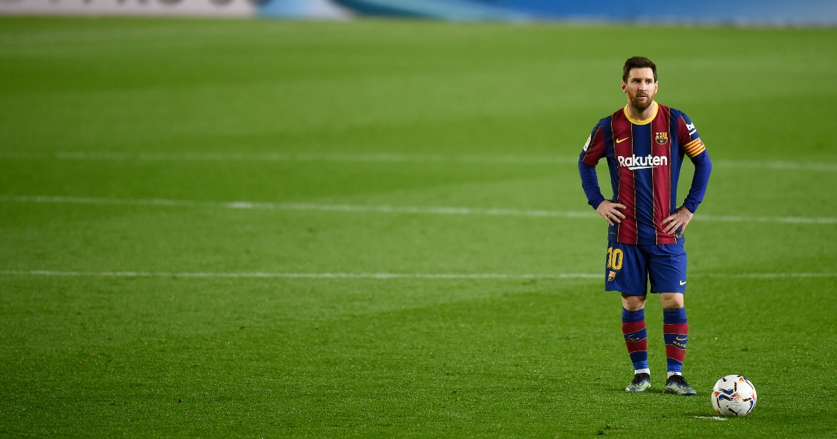 Watch: Messi asks for Elche keeper's shirt after taking the p*ss with dribble - Planet Football