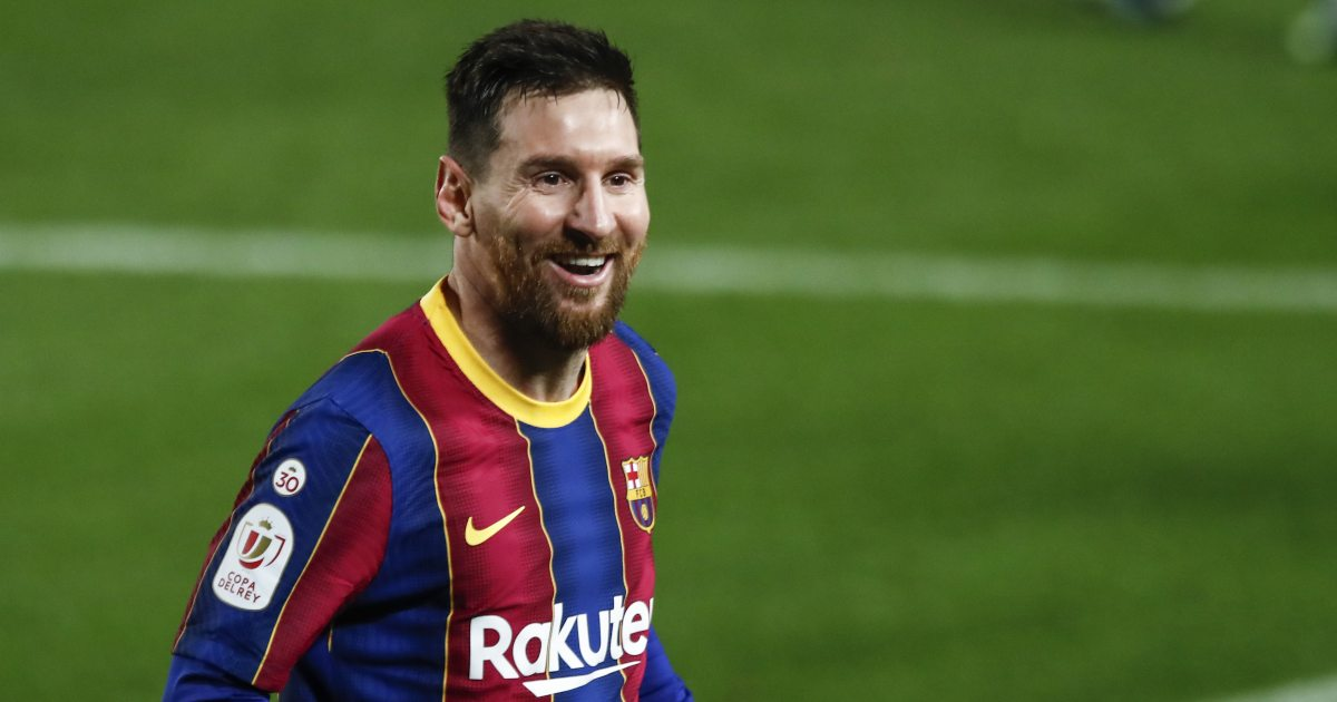 Watch: Lionel Messi ecstatically celebrates Pique's late equaliser