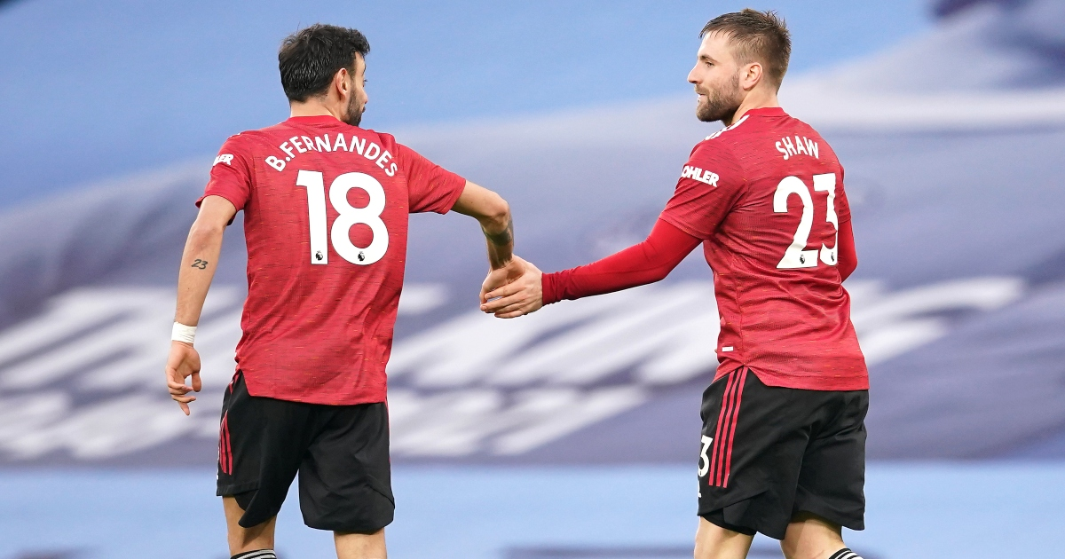 Five stats from Luke Shaw's amazing performance in the derby – PF