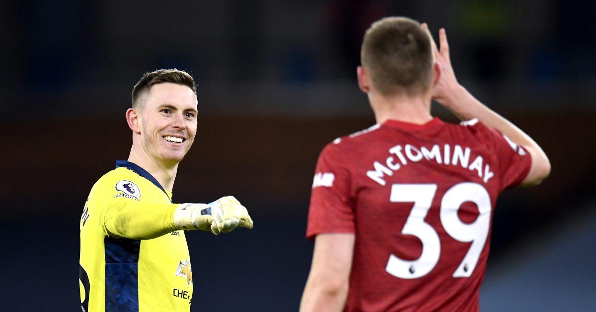 Watch: Scott McTominay accidentally kicks the ball at referee's head - Planet Football