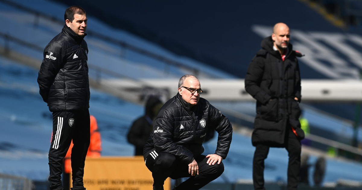 Watch: Marcelo Bielsa can't help but laugh after smash and grab win
