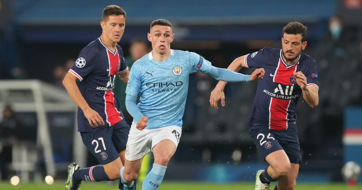 Watch: Man City's Phil Foden skips over challenge and goes on great solo run - Planet Football