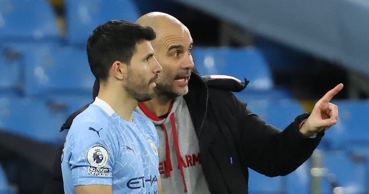 Watch: Aguero's priceless reaction after 4th official gets number wrong - Planet Football