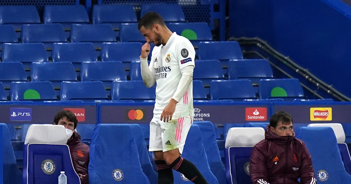 Watch: Hazard laughs with Chelsea players after Real Madrid exit CL - Planet Football