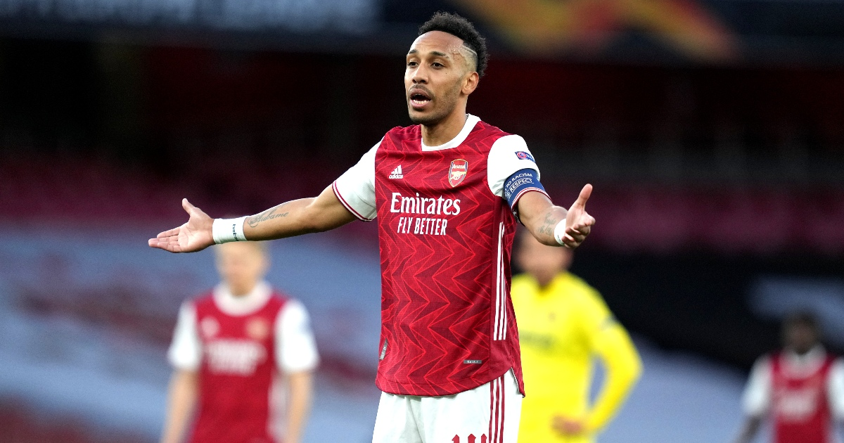 Watch: Aubameyang hits the post twice as Arsenal exit Europa League - Planet Football