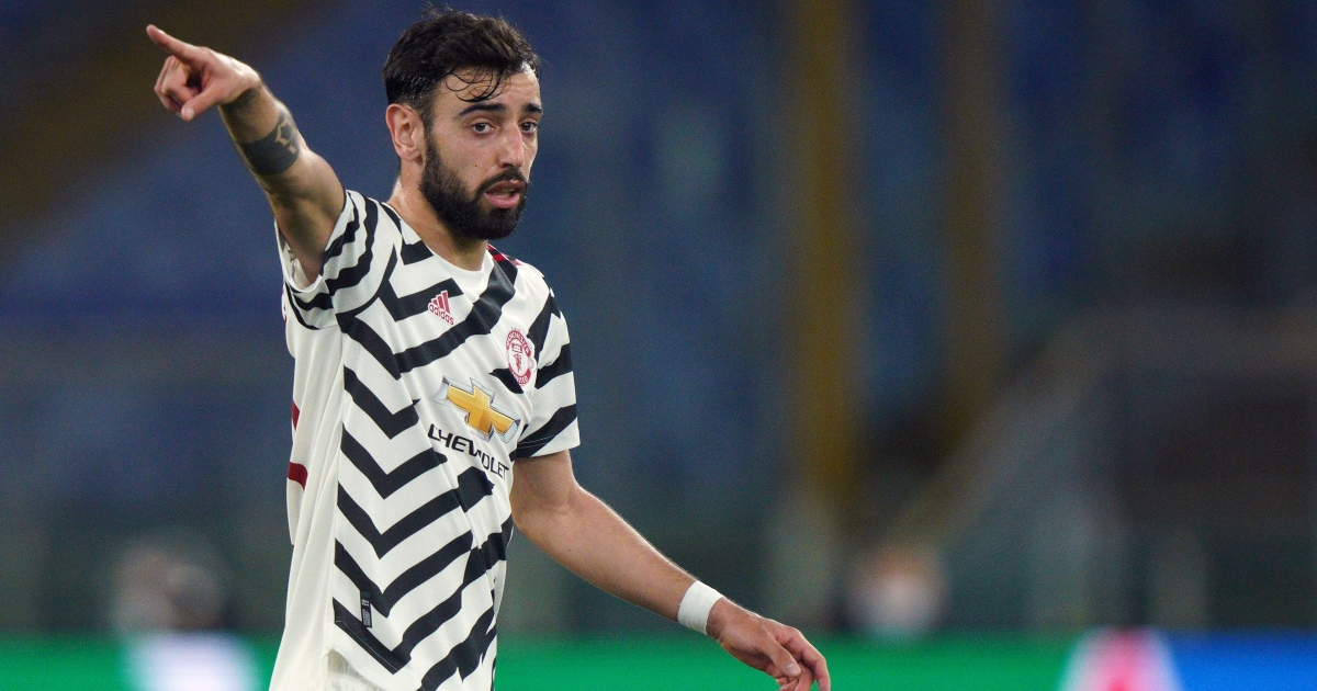 Bruno Fernandes became Man Utd's very own ventriloquist against Roma - Planet Football