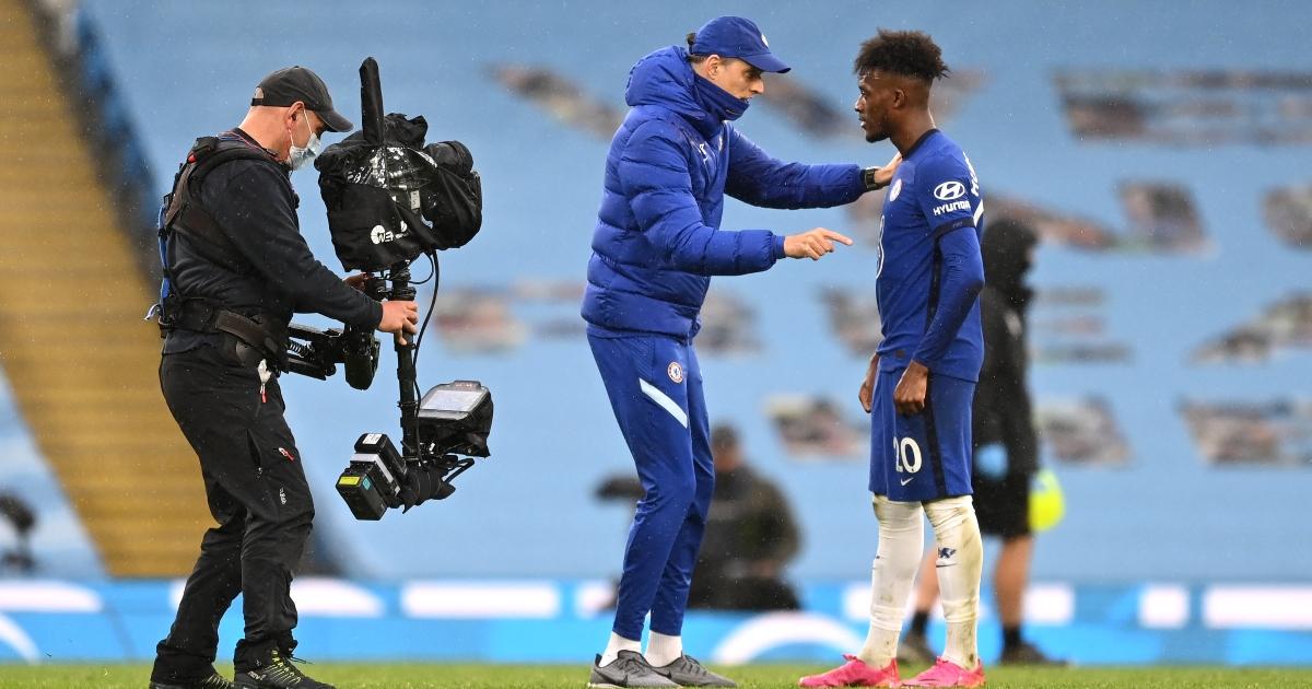 Watch: Tuchel gets Hudson-Odoi in a headlock after impressive Chelsea win - Planet Football