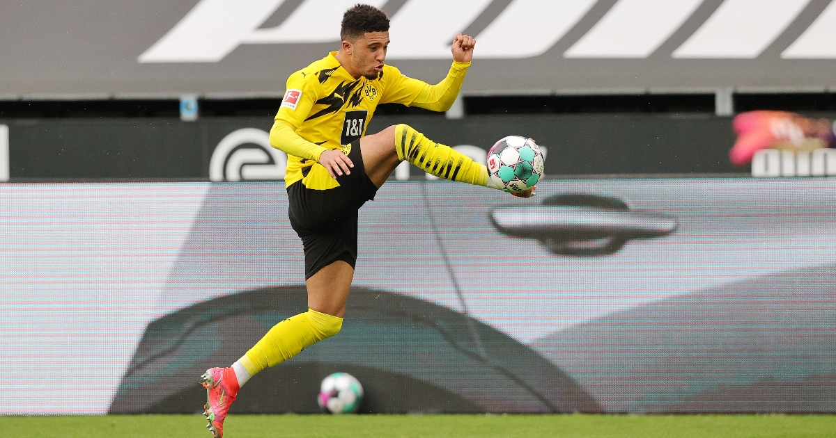 Comparing Sancho's 20-21 stats to Man Utd's current forwards