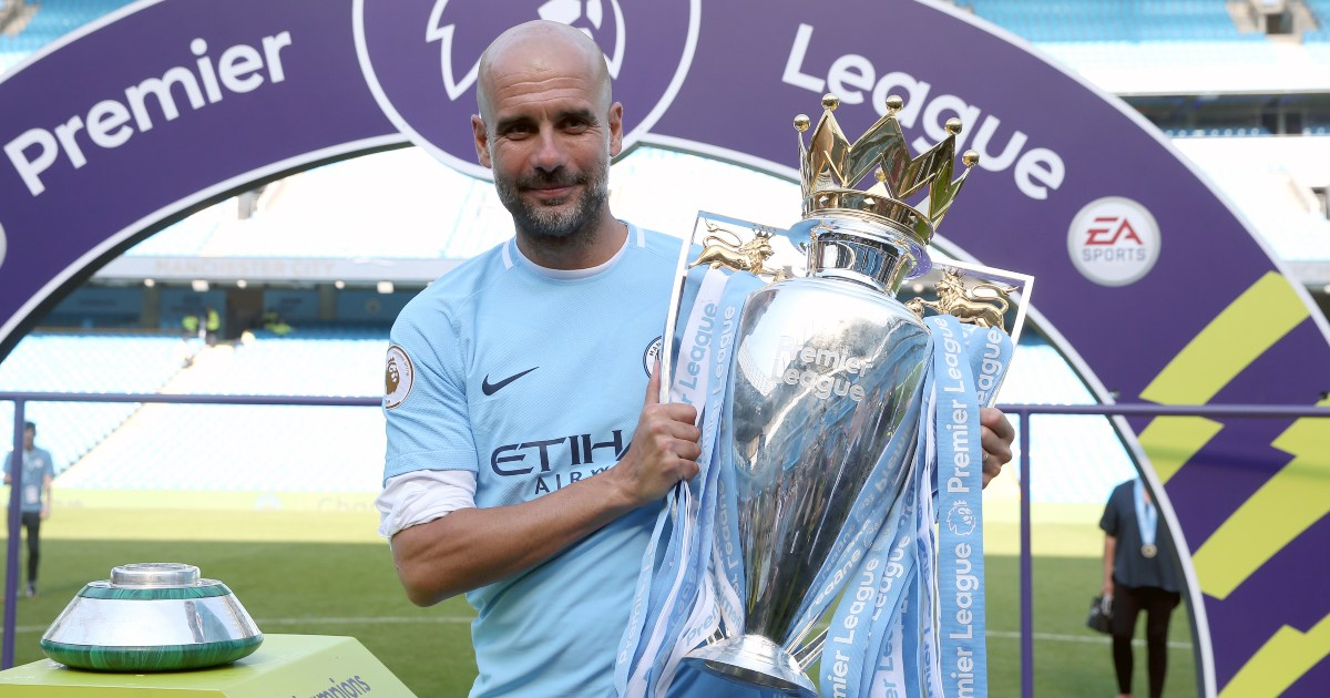How Pep Guardiola's Premier League record compares with Alex Ferguson's - Planet Football