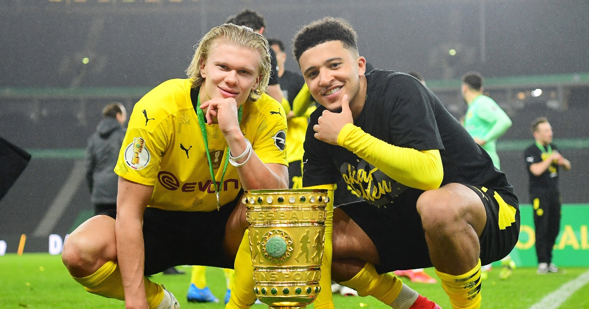 Sancho and Haaland's farewell performance was one to savour - Planet Football