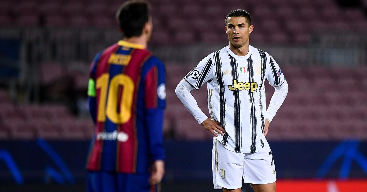 Comparing Ronaldo's record at Juventus to Messi's at Barca