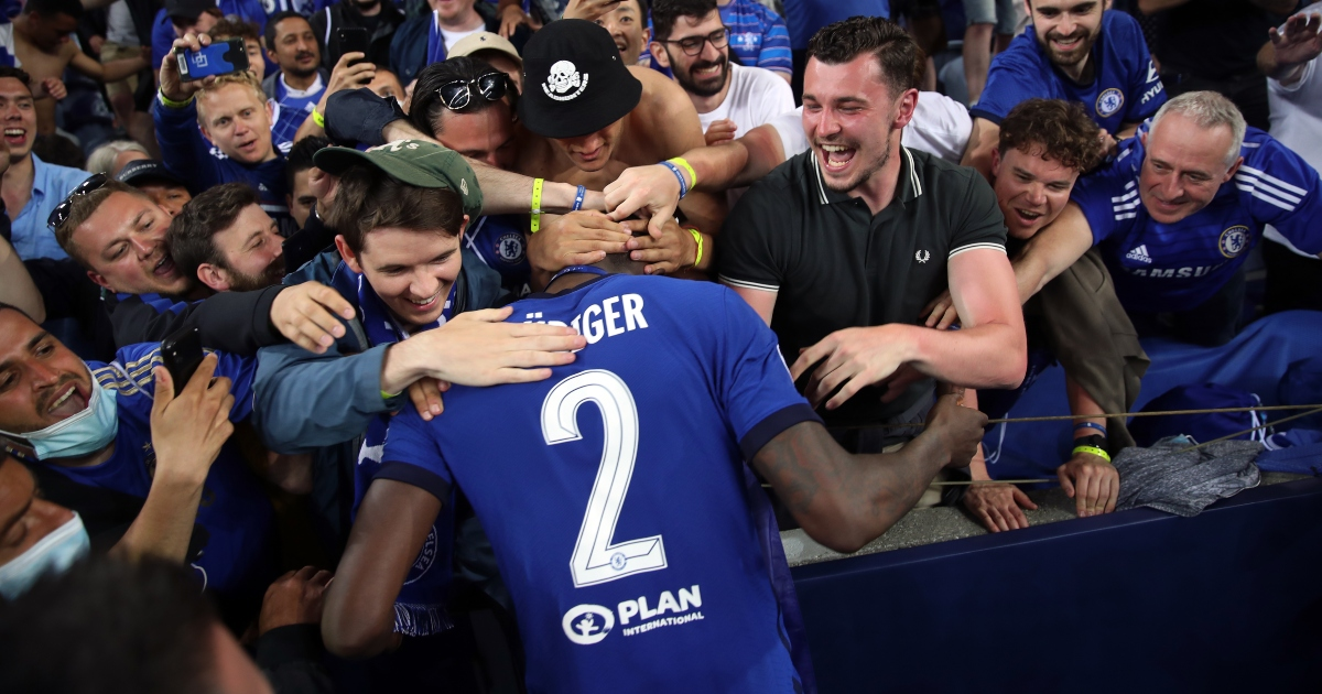 Watch: Rudiger steals the show with wacky post-match celebration - Planet  Football