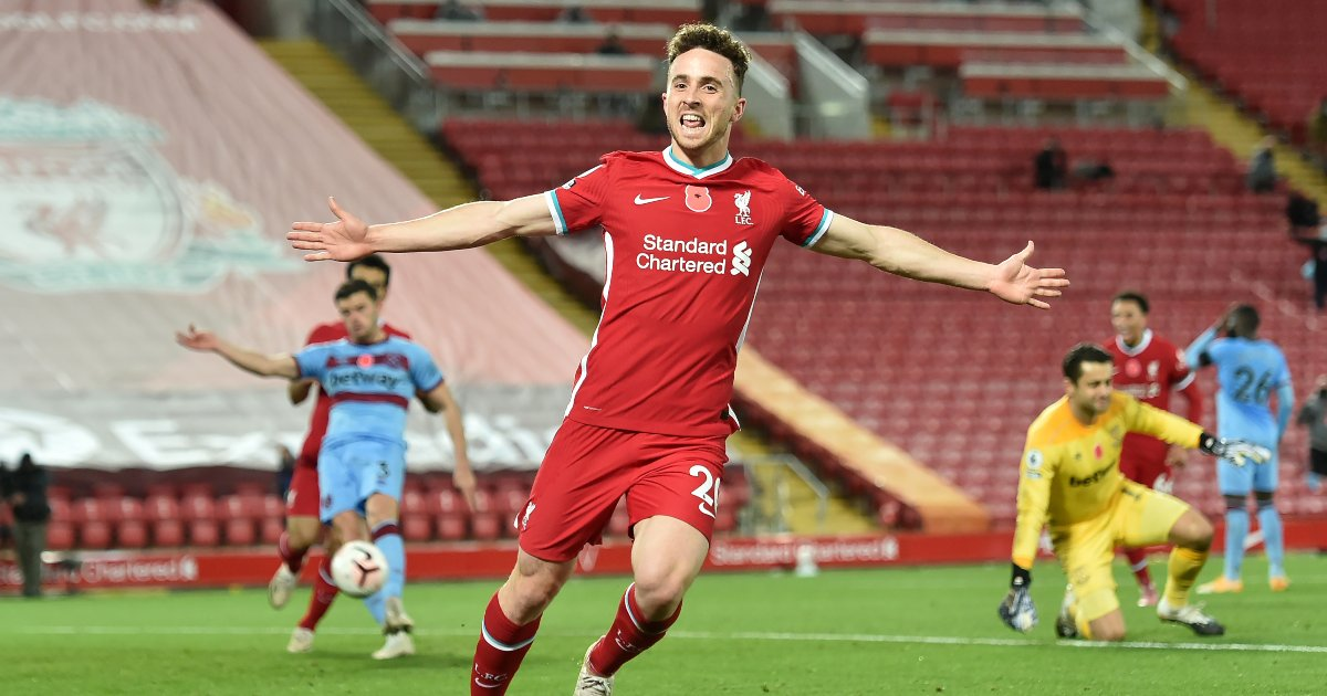 Comparing Diogo Jota's debut season at Liverpool to Sadio Mane's in 2016-17 - Planet Football