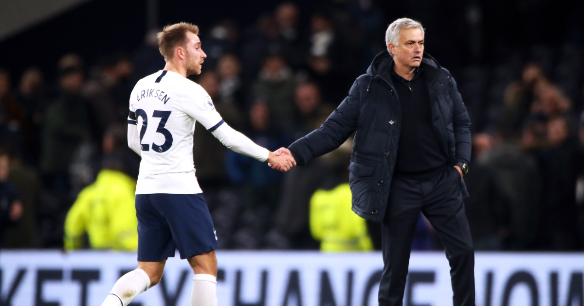 Watch: Jose Mourinho admits he cried over Christian Eriksen collapse - Planet Football