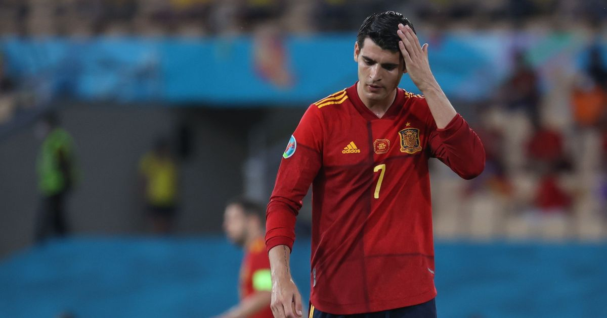 Watch: Alvaro Morata wastes great chance to score for Spain vs Sweden - Planet Football