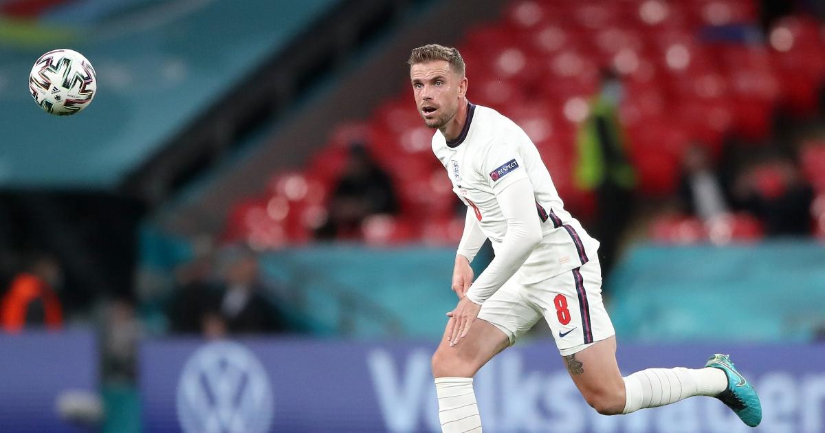 Watch: Jordan Henderson denied first England goal by offside flag - Planet Football