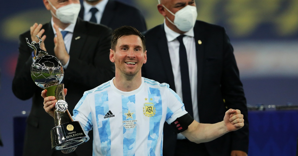 Watch: Messi stops Argentina team-mate from mocking Brazil after final - Planet Football