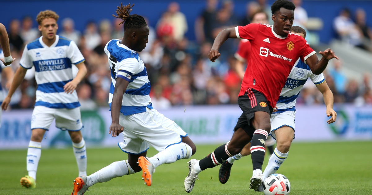 Watch: Anthony Elanga evades two QPR players with some deft footwork - Planet Football
