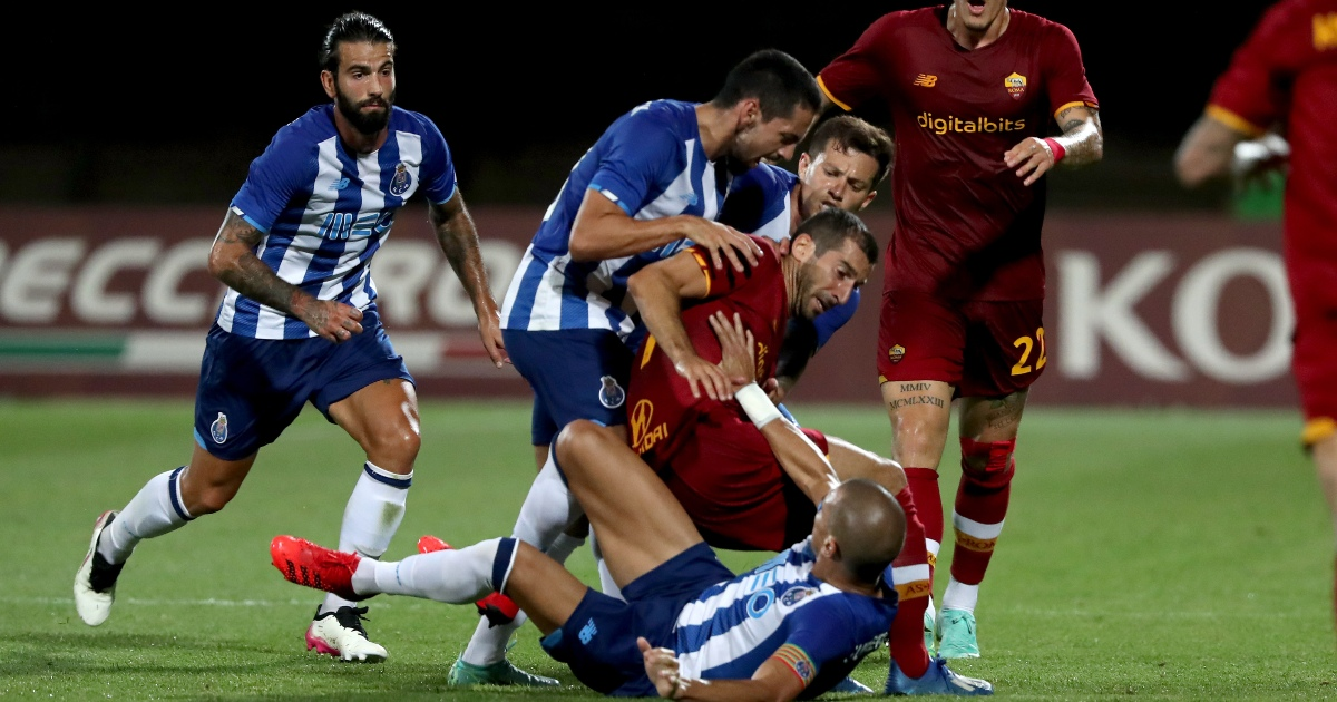 Watch: Pepe sparks brawl in friendly against Jose Mourinho's Roma - Planet Football