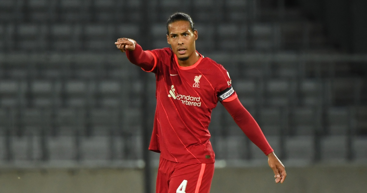 Watch: VVD and Gomez finally return to action for Liverpool