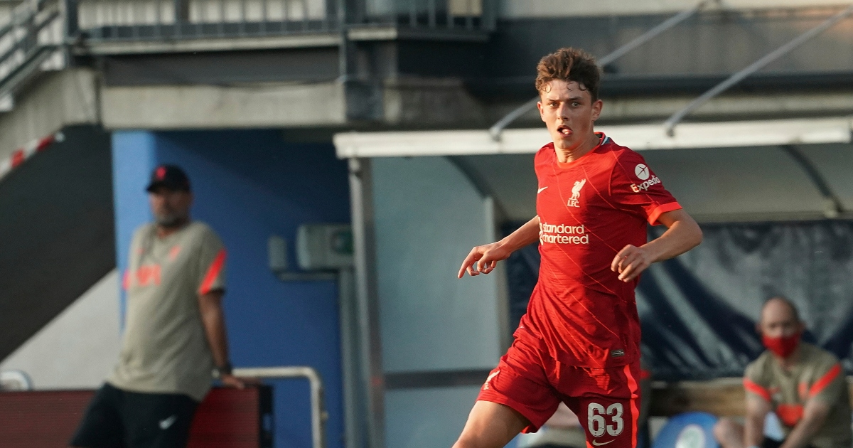 Watch: Liverpool youngster embarrasses Curtis Jones with nutmeg - Planet Football