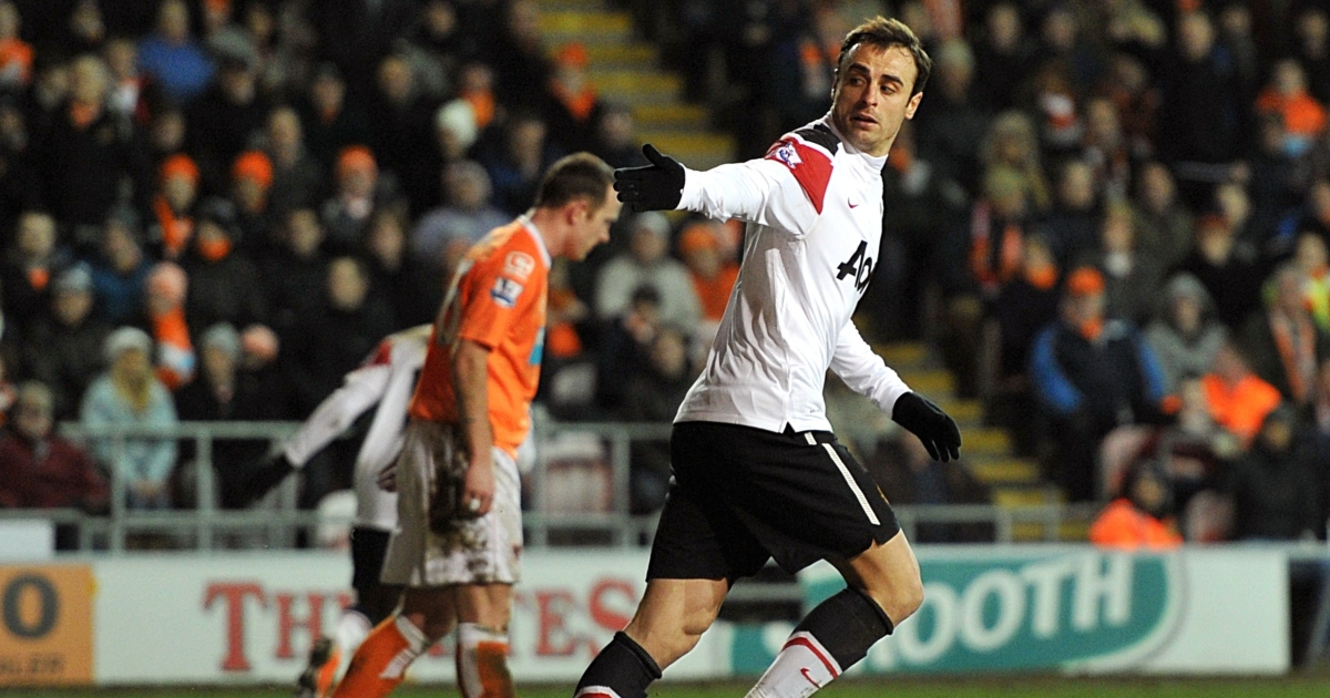 Celebrating Dimitar Berbatov's second best touch at Manchester United - Planet Football