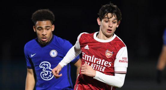 Arsenal Under-23s Charlie Patino