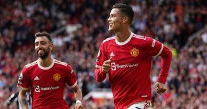 Cristiano Ronaldo and Bruno Fernandes Manchester United