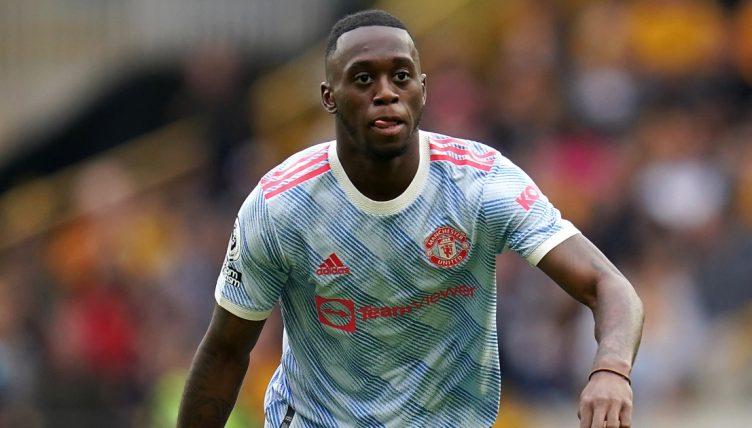 Manchester United Aaron Wan-Bissaka.