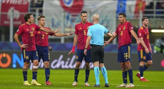 Spain national team, October 2021.