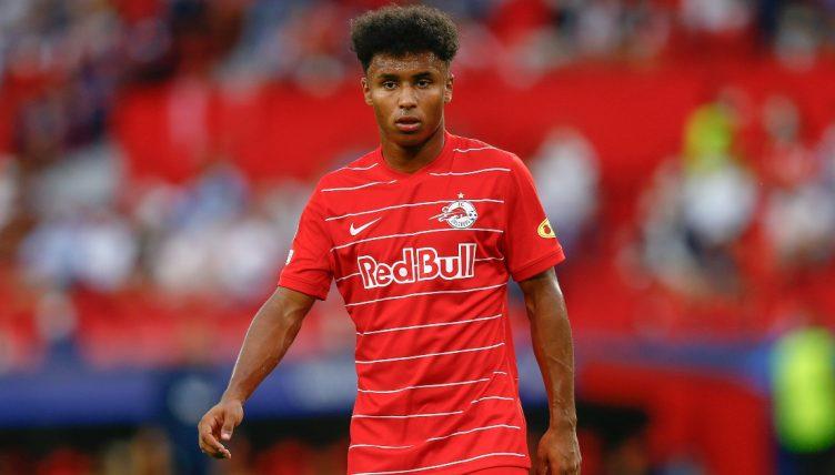 Salzburg striker Karim Adeyemi