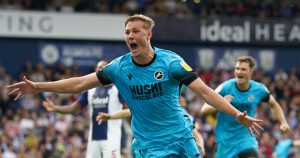 Millwall defender Daniel Ballard