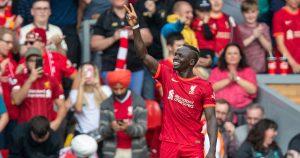 Liverpool forward Sadio Mane