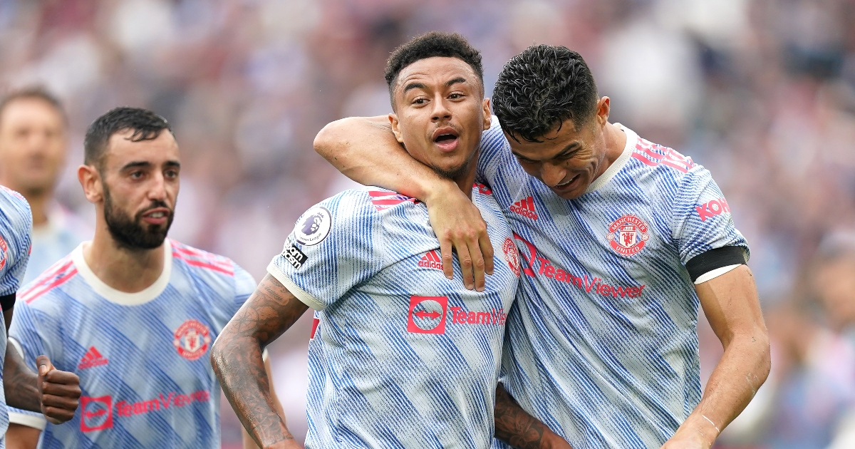 Watch: Ronaldo and Fernandes make Lingard celebrate with Man Utd fans - Planet Football