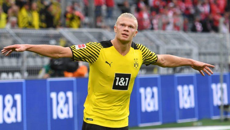 Borussia Dortmund striker Erling Haaland