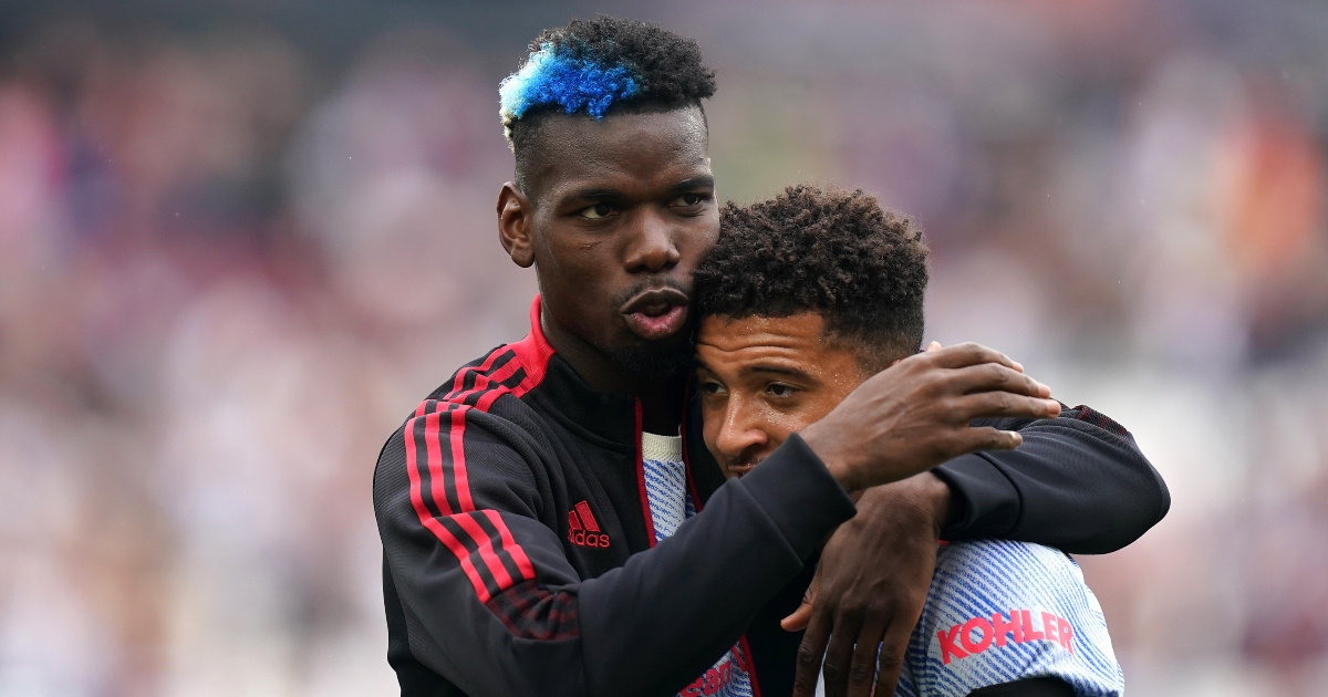 Watch: Paul Pogba gets dragged down tunnel after winding up West Ham fans - Planet Football