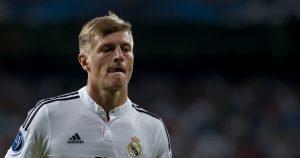 Real Madrid's Toni Kroos