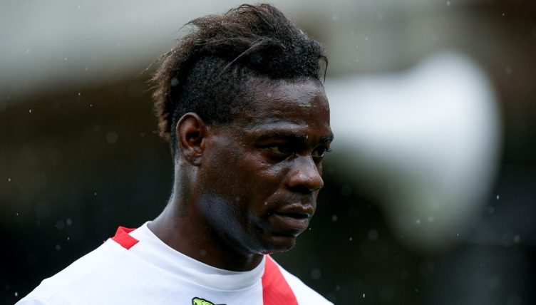 Mario Balotelli playing for AC Monza