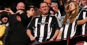 Newcastle owner Mike Ashley in February 2008