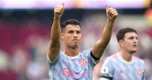 Manchester United's Cristiano Ronaldo