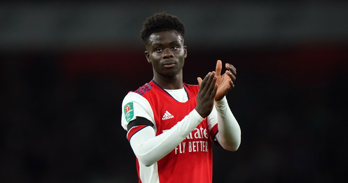 Watch: Arsenal's Bukayo Saka goes on beguiling run down the right-wing - Planet Football