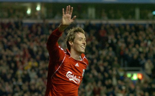Peter Crouch Celebrating A Goal