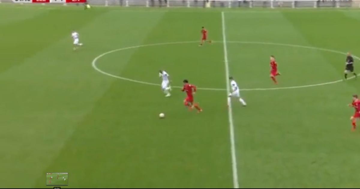 Watch: Liverpool starlet Stefan Bajcetic goes on insane 100-yard dribble - Planet Football