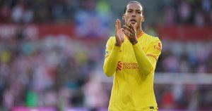 Liverpool Virgil van Dijk