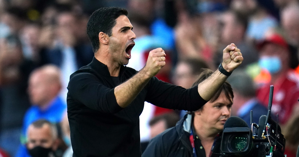 Watch: Mikel Arteta can't contain his celebrations as Arsenal thrash Spurs - Planet Football