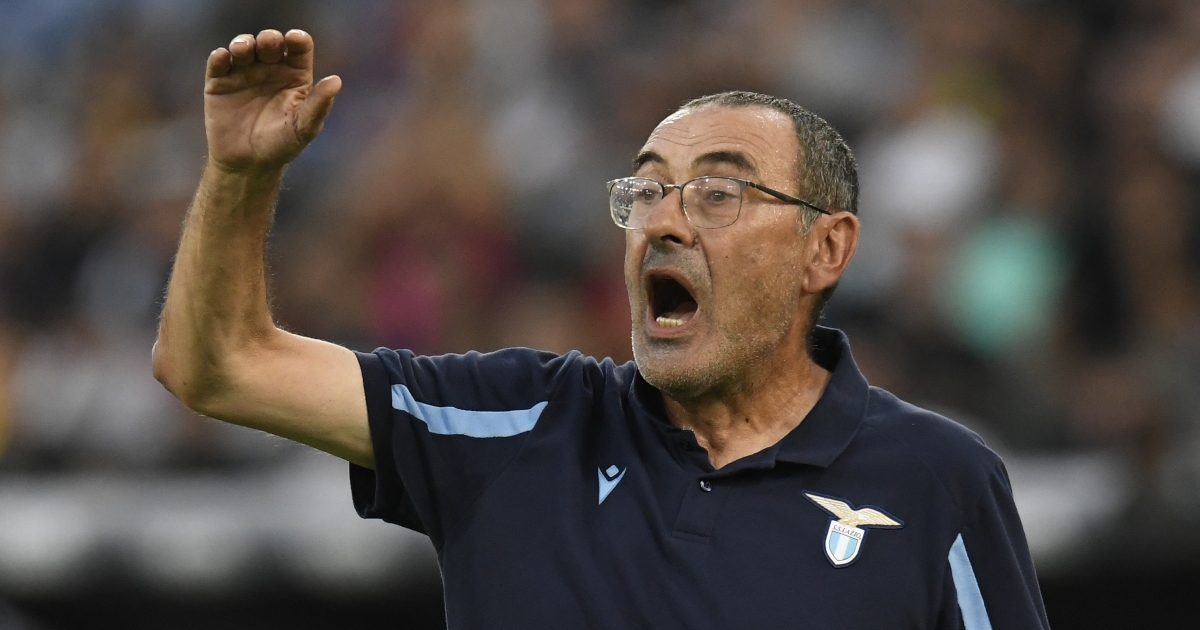 With Lazio, Sarri can finally get back to railing against the establishment - Planet Football