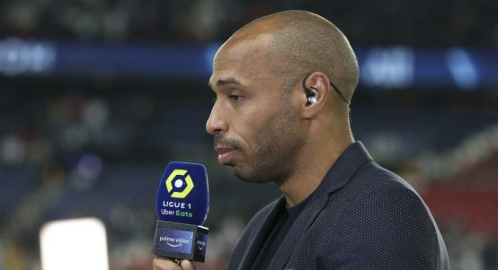 Former Arsenal Striker Thierry Henry