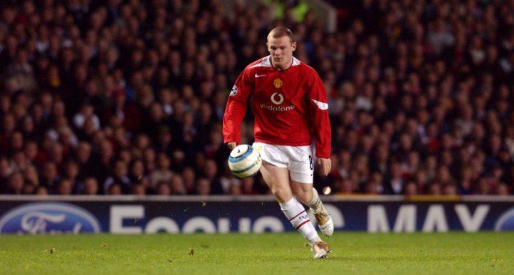 Wayne Rooney Man Utd Debut