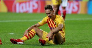 Barcelona striker Luuk De Jong