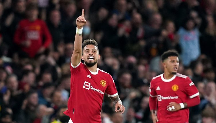 Manchester United left-back Alex Telles